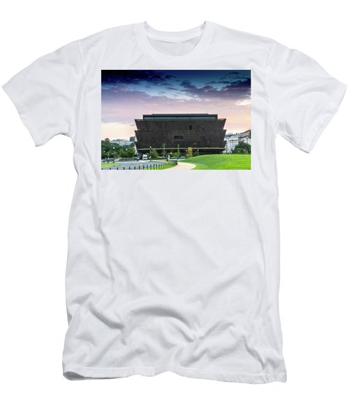 Dawn At The National Museum Of African American History And Culture.  No 1 Men's T-Shirt (Athletic Fit)