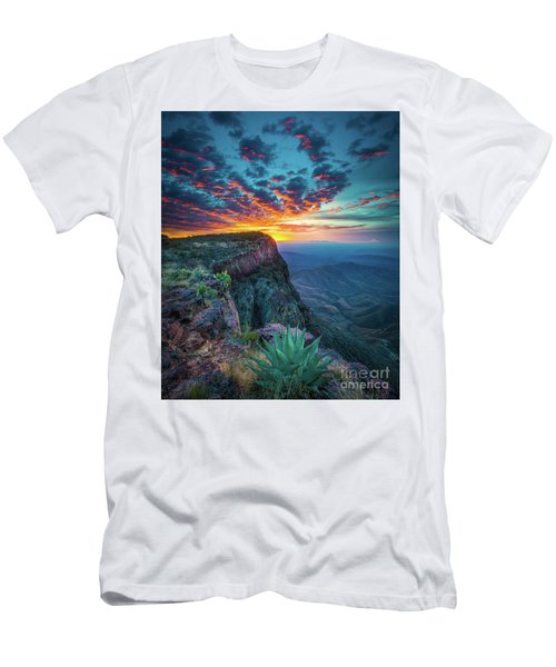 Dawn In The Chisos Men's T-Shirt (Athletic Fit)