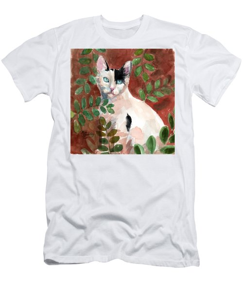 Deano In The Brush Men's T-Shirt (Athletic Fit)