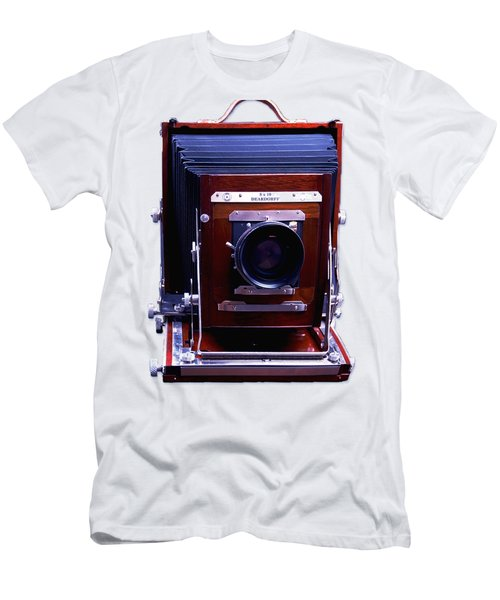 Deardorff 8x10 View Camera Men's T-Shirt (Slim Fit) by Joseph Mosley