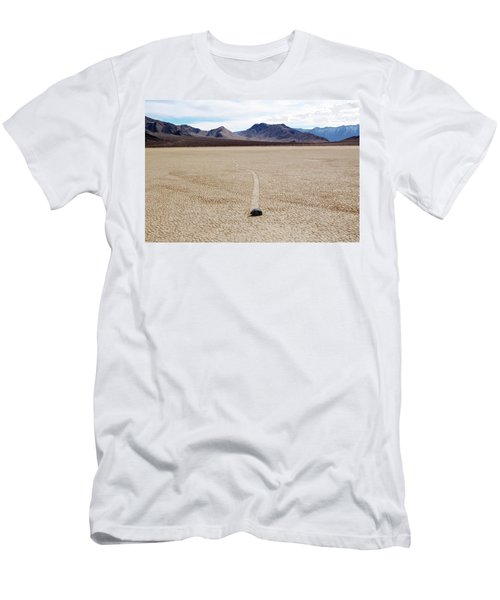 Death Valley Racetrack Men's T-Shirt (Athletic Fit)