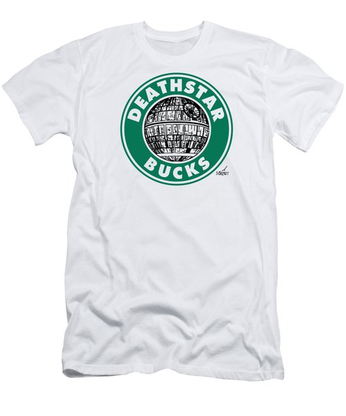 Deathstar Bucks Men's T-Shirt (Athletic Fit)