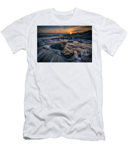December Sunrise In Ogunquit Men's T-Shirt (Athletic Fit)