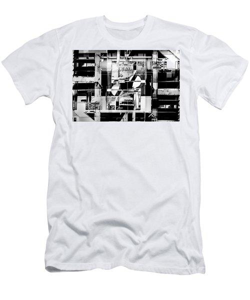 Decentralized Men's T-Shirt (Slim Fit) by Don Gradner