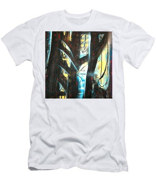 Perceptive Echo Men's T-Shirt (Slim Fit) by Yul Olaivar
