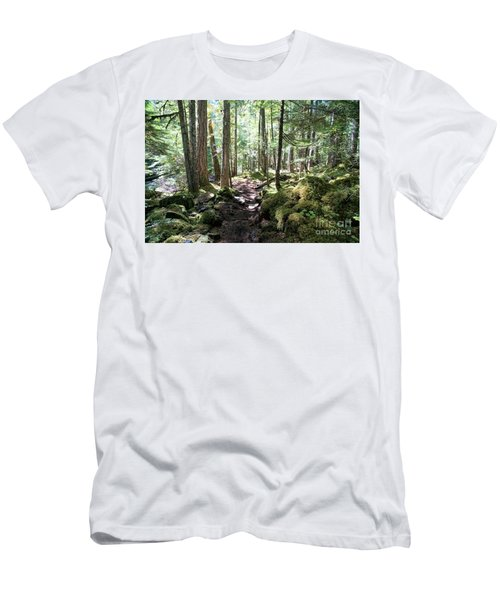Deep In The Oregon Forest Men's T-Shirt (Athletic Fit)