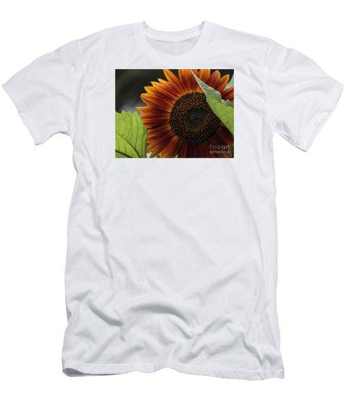 Deep Orange Men's T-Shirt (Athletic Fit)