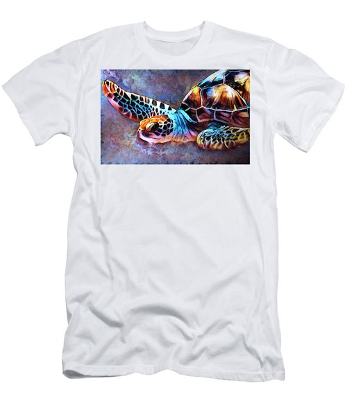 Deep Sea Trutle Men's T-Shirt (Athletic Fit)
