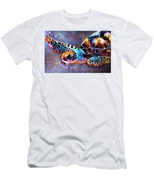 Deep Sea Trutle Men's T-Shirt (Athletic Fit)