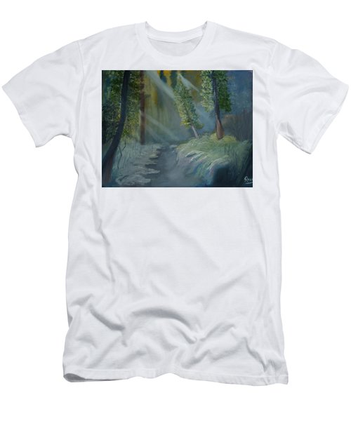 Deep Woods Dry Gulch Men's T-Shirt (Athletic Fit)