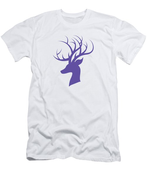 Deer Head Men's T-Shirt (Athletic Fit)