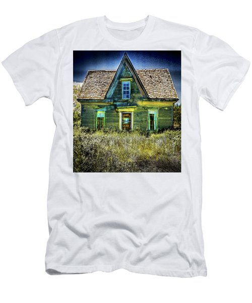 Deer Isle Haunted House Men's T-Shirt (Athletic Fit)