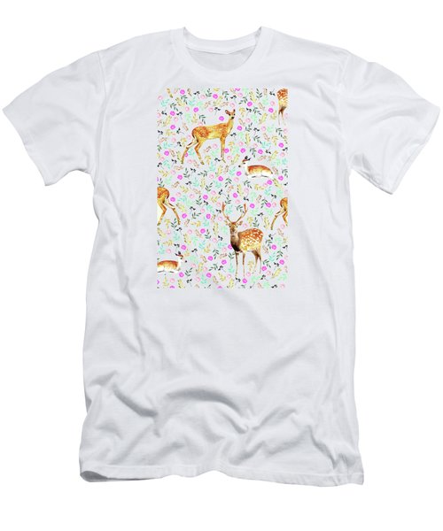 Deers Men's T-Shirt (Athletic Fit)