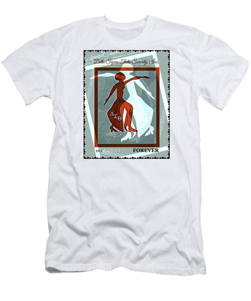Delta Fortitude Men's T-Shirt (Slim Fit) by Lynda Payton