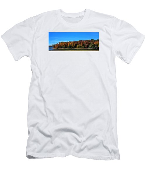 Delta Lake State Park Foliage Men's T-Shirt (Slim Fit) by Diane E Berry