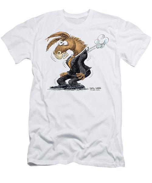Democrat Deflates Men's T-Shirt (Athletic Fit)