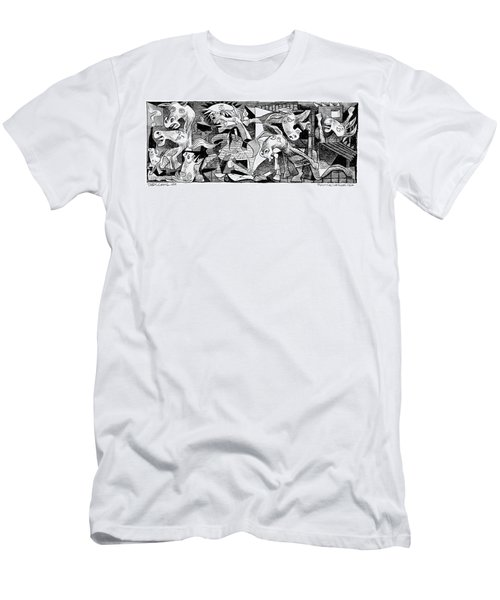Democrat Guernica Men's T-Shirt (Athletic Fit)