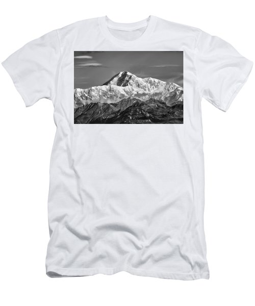 Denali Grey Men's T-Shirt (Athletic Fit)