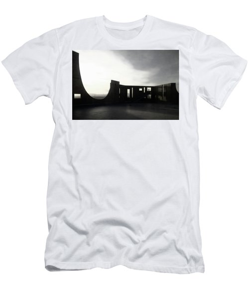 Men's T-Shirt (Athletic Fit) featuring the photograph Denver Art Museum Ponti 2 by Marilyn Hunt