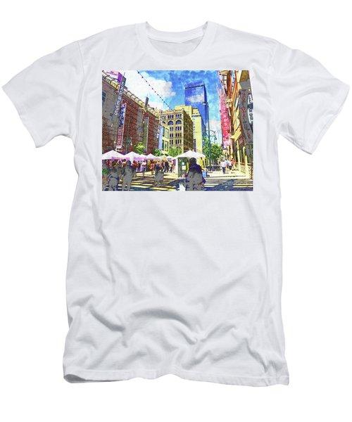 Denver Art Walk Men's T-Shirt (Athletic Fit)