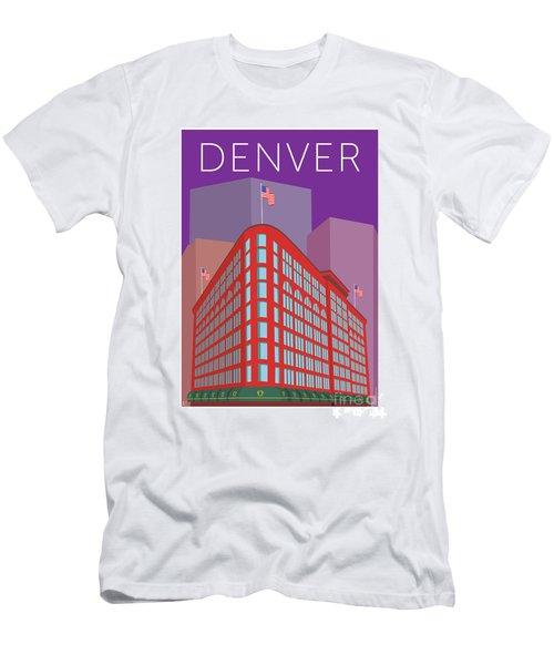 Denver Brown Palace/purple Men's T-Shirt (Athletic Fit)