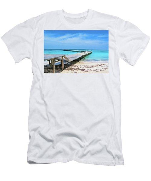 Departure Point Men's T-Shirt (Athletic Fit)