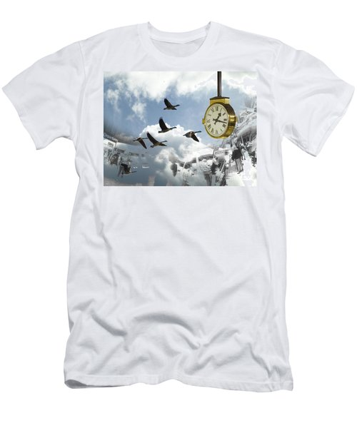 Departures Men's T-Shirt (Athletic Fit)