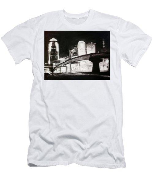 Des Moines Skyline #10 Men's T-Shirt (Athletic Fit)