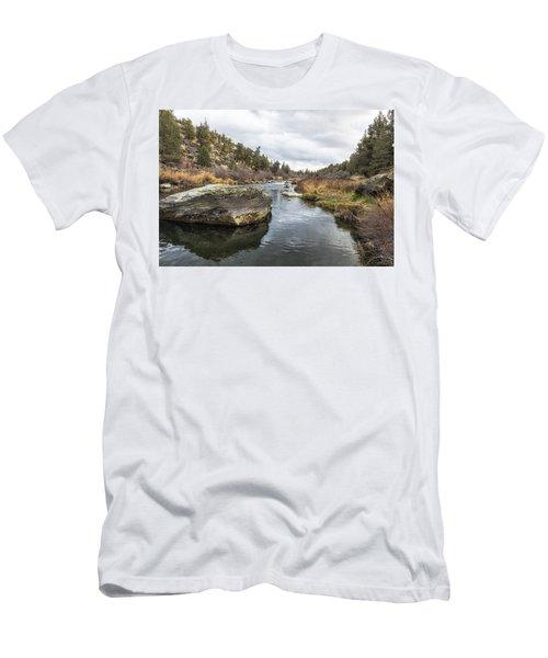 Deschutes River At Eagle Crest Men's T-Shirt (Athletic Fit)