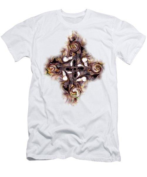 Desert Cross Men's T-Shirt (Athletic Fit)