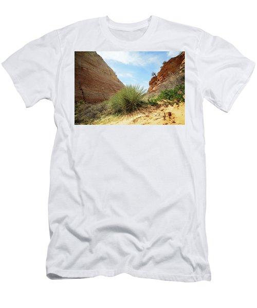 Desert Greenery Men's T-Shirt (Athletic Fit)