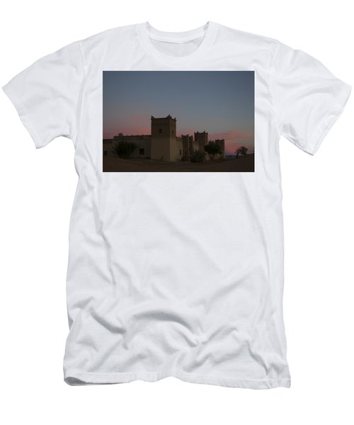 Desert Kasbah Morocco 2 Men's T-Shirt (Athletic Fit)