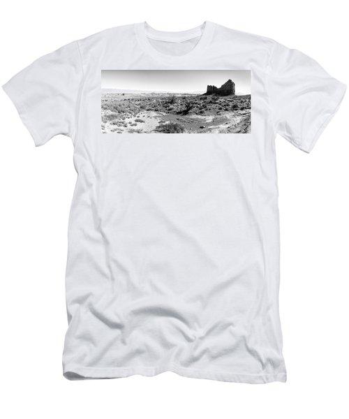 Desert Landscape - Arches National Park Moab, Utah Men's T-Shirt (Athletic Fit)