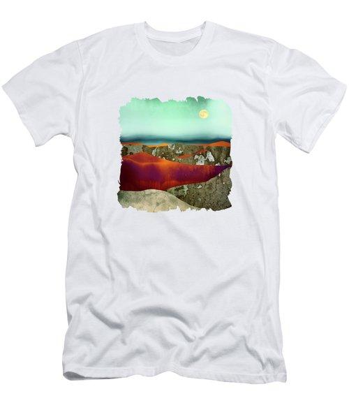 Desert Moon Men's T-Shirt (Athletic Fit)