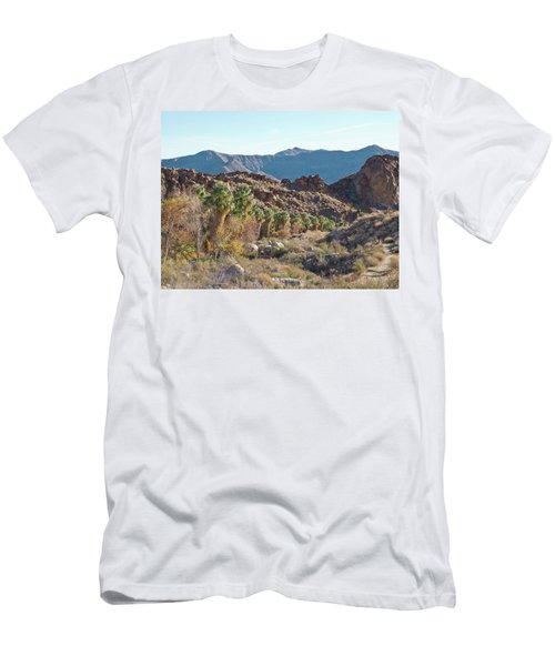 Men's T-Shirt (Athletic Fit) featuring the photograph Desert Palms by Frank DiMarco