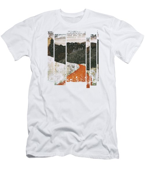 Desert Snow Men's T-Shirt (Slim Fit) by Katherine Smit