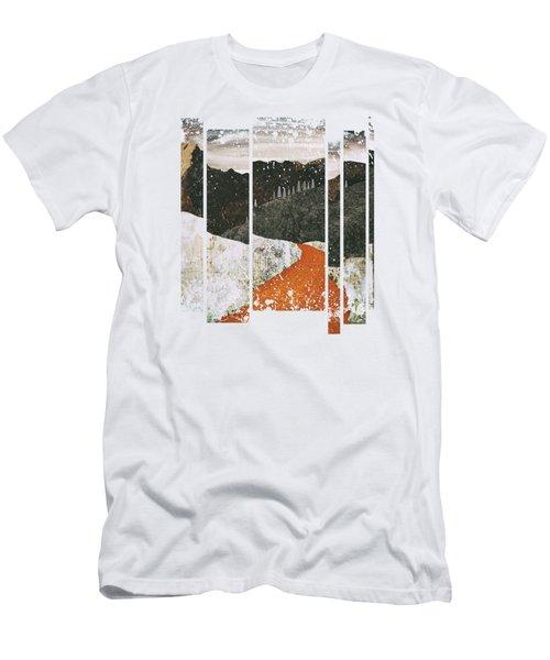 Desert Snow Men's T-Shirt (Athletic Fit)