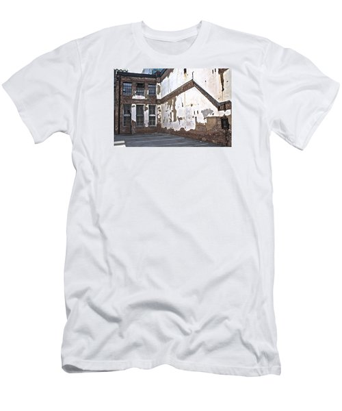 Men's T-Shirt (Athletic Fit) featuring the photograph Deteriorated by Break The Silhouette