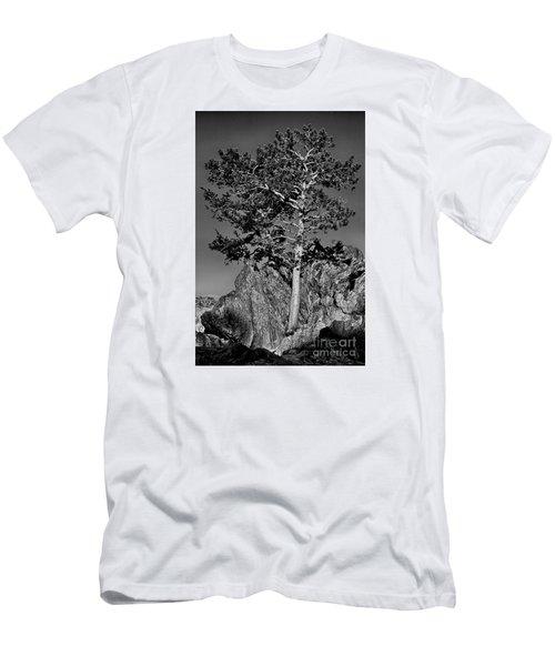 Determined, Monochrome Men's T-Shirt (Athletic Fit)
