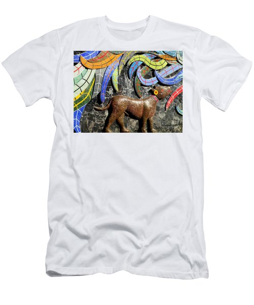 Diego Rivera Mural 4 Men's T-Shirt (Slim Fit) by Randall Weidner