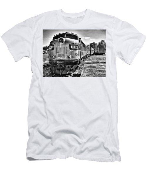 Dinner Train Men's T-Shirt (Athletic Fit)