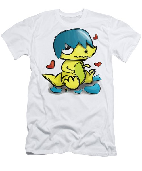 Dino Egg Men's T-Shirt (Athletic Fit)