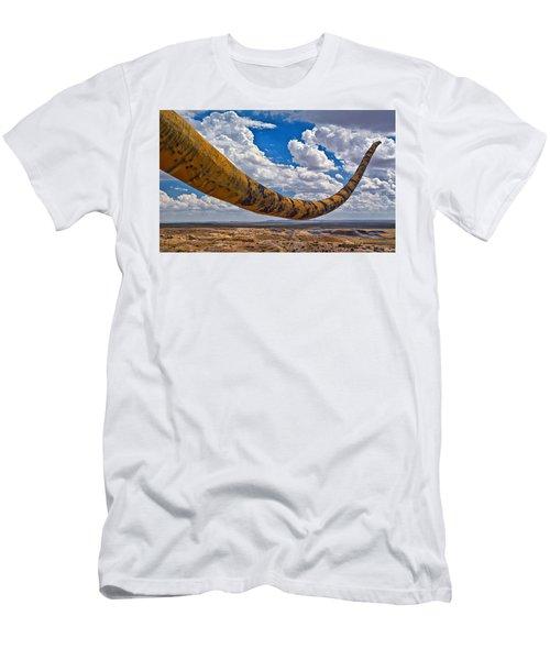 Dinosaur Tales Men's T-Shirt (Slim Fit) by Gary Warnimont