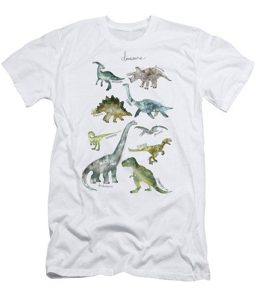 Dinosaurs Men's T-Shirt (Athletic Fit)