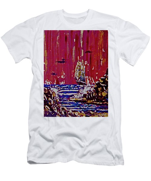 Disaster On The Reef Men's T-Shirt (Athletic Fit)