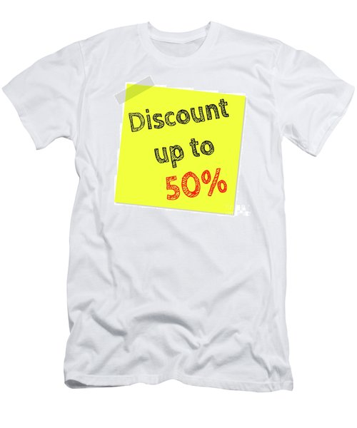 Discount Funny T-shirt Men's T-Shirt (Slim Fit) by Esoterica Art Agency