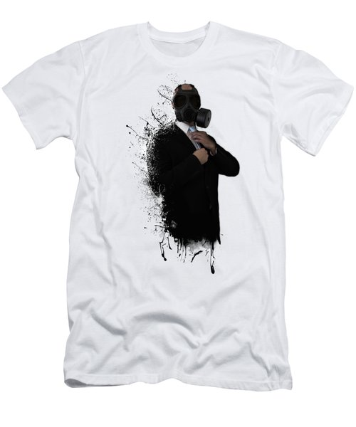 Dissolution Of Man Men's T-Shirt (Slim Fit) by Nicklas Gustafsson