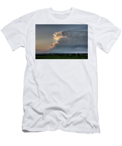 Distant Thunderstorm Men's T-Shirt (Athletic Fit)