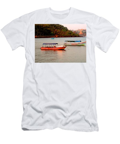 Men's T-Shirt (Athletic Fit) featuring the photograph Divine Grace by Sher Nasser