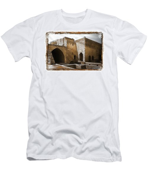 Do-00422 St Gilles Citadelle Men's T-Shirt (Slim Fit) by Digital Oil